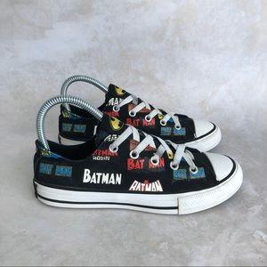 Converse & DC Batman Ctas Low Top Sneaker Kids